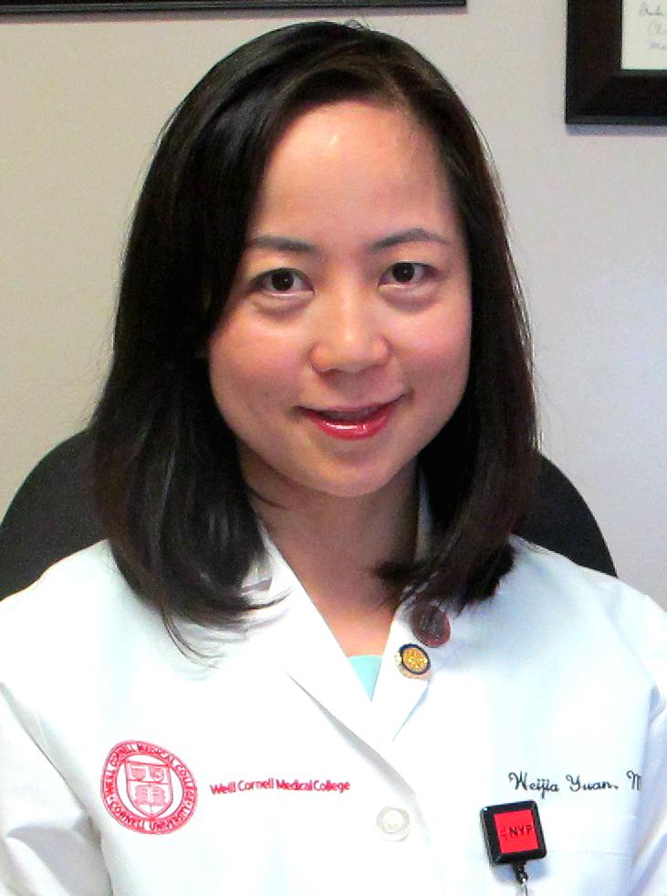 Weijia Yuan Weill Cornell Physician Network Weill